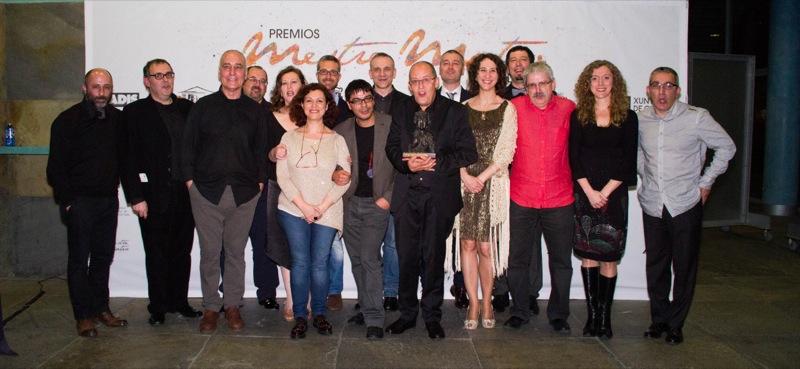 """Premio de Honra """"Fernando Rey"""" a Manolo González"""