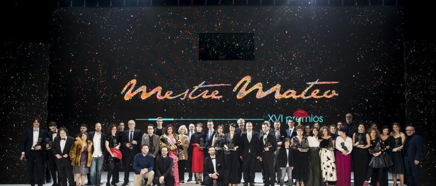 GALA XVI PREMIOS MESTRE MATEO 2018