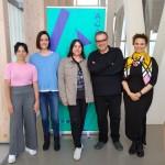 Sonia Méndez Alonso, Carmen Méndez, Ana Míguez, Pepe Coira e Saamira Ganay